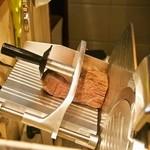 ボルケーノキッチン - ローストビーフのスライサー