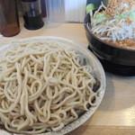 どてちん - つけ麺爆盛+ニンニク
