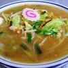 まるた食堂 - 料理写真:しいたけ味噌ラーメン¥680