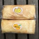 お菓子の店 石塚 - バナナとみかんクレープ
