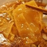 ムタヒロ - ①ワハハ煮干特製そば(一反麺)