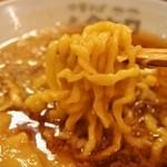 ムタヒロ - ①ワハハ煮干特製そば(麺)