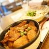 うどん館 藤丸 - 料理写真:かけうどん豚丼セット
