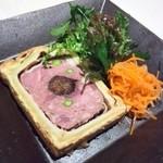 フランス料理 ル・クール - 料理写真:猪のパテ・アン・クルート