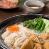 博多 水炊き 鶏料理と九州の恵み 可士和 - 料理写真:当店のスープは鶏ガラから丁寧にとり鶏のうまみが凝縮されたスープです。そのスープで炊いた野菜やお肉を可士和の特製白ポン酢でお召し上がりになれば間違いなし。季節を選ばない水炊きは当店のおすすめです!!