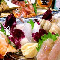 新鮮な鮮魚。お刺身も是非お召し上がりください。