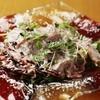 Nobe noBe - 料理写真:稀少種の和牛をサラダ感覚で楽しむ『名物 備前黒毛和牛のパルメザンチーズ炙り』