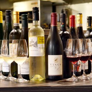 珍しい!!『ワイン5種類飲み比べセット』