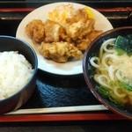 こんぴら亭 - 料理写真:『とりから定食』930円
