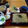 手打ち蕎麦 㐂 - 料理写真:「そば合せ(ざる)」1000円
