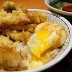 和食さと - 料理写真:2014年12月 ちく玉海老天丼