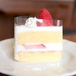 プレリュード - イチゴのショートケーキの断面 '15 4月下旬