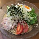 昌平ラーメン - 胡麻冷やし 700円