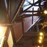珈琲館 くすの樹 - とても高い天井