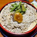 常念 - 「きのこ蕎麦」(2013.04)