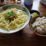 来夏世 - そばセット(じゅーしー)600円税込