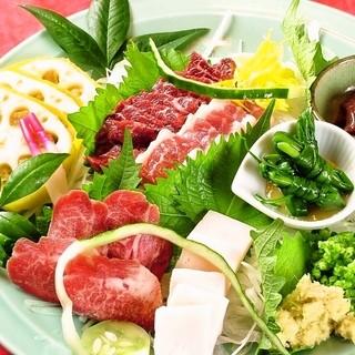 熊本の郷土料理に舌鼓