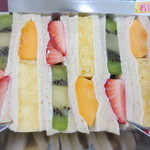 ツルザワ - フルーツサンドイッチ(6切)