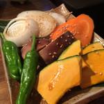 白肉屋 - 焼き野菜