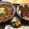 青柳亭 - 料理写真:ミニあなご丼セット