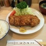 とんき - ヒレカツ定食(1,560円)