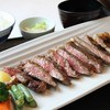 炭火焼ぼたん - 料理写真:サーロインステーキ定食