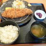 とんかつの喜多蔵 - 特醸黒豚ロース御膳2015.6月
