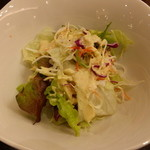 ローマイヤ - セットのサラダ