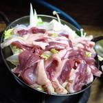 豊田屋 - カモ鍋