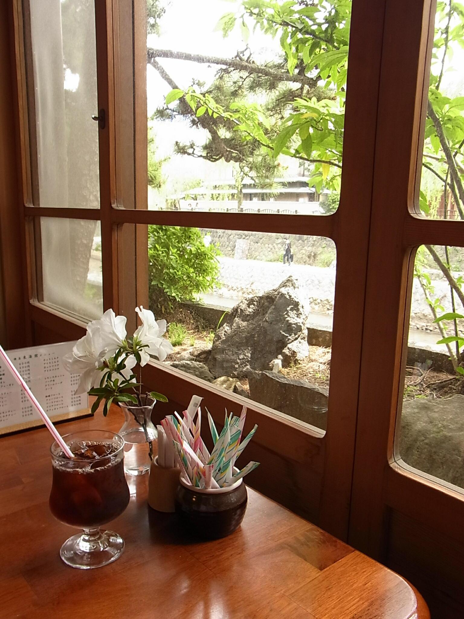『東海館』喫茶室