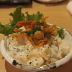 目利きの銀次 - めんたいポテトサラダ