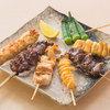 三間堂 - 料理写真:串焼き盛合せ(6本)