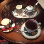 カフェ・ド・パリ - 2015.06  デザートとコーヒー