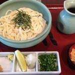 うどん本陣 山田家 - ざるぶっかけうどん570円