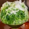 慈げん - 料理写真:抹茶ミルクあずき