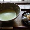 喫茶去かつて - 料理写真:抹茶わらびもち~☆