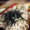 上の家 鶴岡 - 料理写真:天ざる1250円