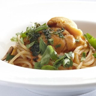 アロマ・クラシコ - 料理写真:雲丹のパスタ バーリ風