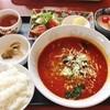 キッチン富士 - 料理写真:担々麺セット980円