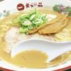 天下一品 - 料理写真:黄金のこってりスープ。