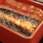 つるや - 江戸生鰻樺焼(えどうまれうなぎのかばやき)、皮(かは)
