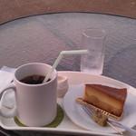 節知 - H26/9プリンケーキとアイスコーヒー