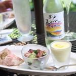 イル・リフージョ・ハヤマ - ランチの前菜プレート