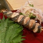 わき本 - ウナギ串焼き