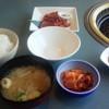 焼肉なべしま - 料理写真:ランチセット