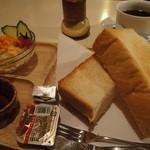 ブレイク - 料理写真:モーニングセット