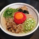 濃厚担々麺はなび - 料理写真:明太子クリームまぜそば