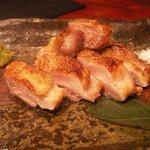 ソウテン - 鶏ももの炙り焼き