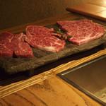 北新地 すがはら - お肉は本当に美味しい。