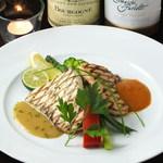 イノカシラテーブル - 鮮魚のグリル